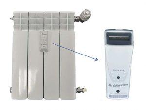 Contadores de calorías en los radiadores